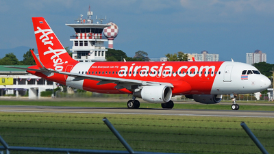A picture of HSBBM - Airbus A320216 - AirAsia - © SOMPOL JUNLAMART
