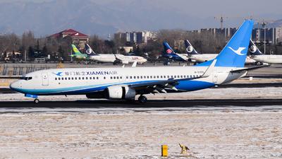 A picture of B5355 - Boeing 7378FH - Xiamen Air - © Fei Yu