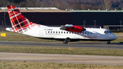 G-LMRB - ATR 42-500 - Loganair