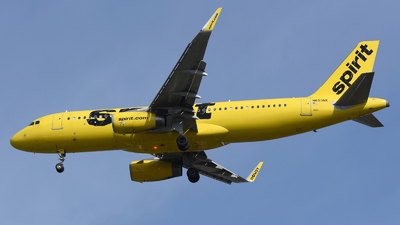 A picture of N653NK - Airbus A320232 - Spirit Airlines - © DJ Reed - OPShots Photo Team