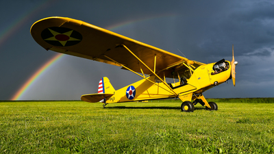 F-GHLQ - Piper PA-18 Super Cub - Private