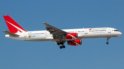 VP-BRL - Boeing 757-28A - Royal Flight