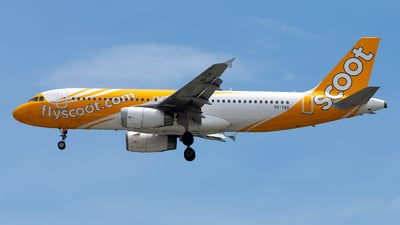 9V-TAS - Airbus A320-232 - Scoot