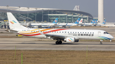A picture of B3116 - Embraer E190LR - Colorful GuiZhou Airlines - © Eric Wang