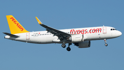 A picture of TCNBG - Airbus A320251N - Pegasus Airlines - © Stefan Bayer