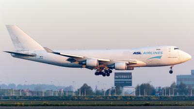 A picture of OOTHD - Boeing 7474HAF(ER) - [35236] - © Kris Van Craenenbroeck