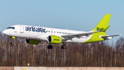 A picture of YLCSA - Airbus A220300 - Air Baltic - © KomradAlexey