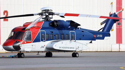 A picture of LNOQA - Sikorsky S92A - CHC Helikopter Service - © R.Rimestad