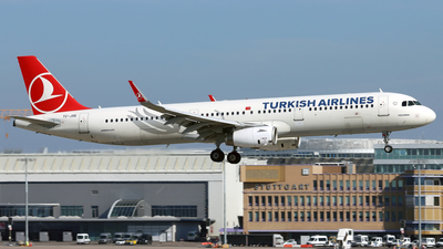 A picture of TCJSE - Airbus A321231 - Turkish Airlines - © Eddie Heisterkamp