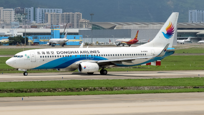 A picture of B6983 - Boeing 73783Z - Donghai Airlines - © xujunlang0420