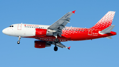 VQ-BCO - Airbus A319-112 - Rossiya Airlines