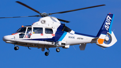 A picture of JA67NH - Airbus Helicopters AS365N3 Dauphin 2 - [7051] - © Shimizu Brothers