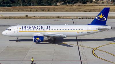 EC-GUR - Airbus A320-231 - Iberworld Airlines