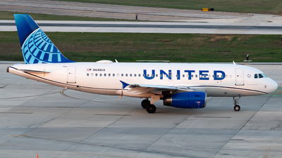 N848UA - Airbus A319-131 - United Airlines
