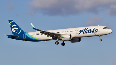 A picture of N925VA - Airbus A321253N - Alaska Airlines - © Jack Oliver
