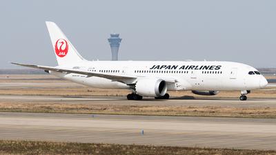 A picture of JA830J - Boeing 7878 Dreamliner - Japan Airlines - © SAM WANG