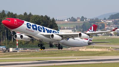 HB-JMF - Airbus A340-313X - Edelweiss Air