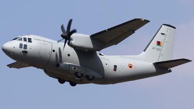 AF003 - Alenia C-27J Spartan - Zambia - Air Force