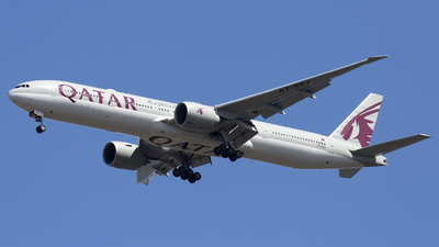 A7-BEJ - Boeing 777-3DZER - Qatar Airways