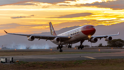 HB-JMG - Airbus A340-313X - Edelweiss Air