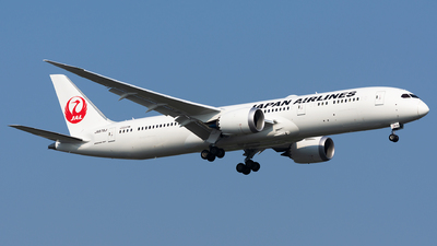 JA876J - Boeing 787-9 Dreamliner - Japan Airlines (JAL)