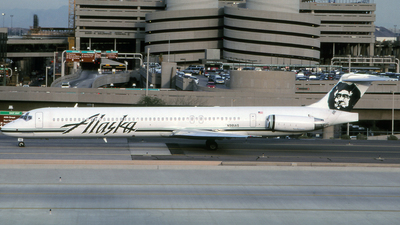 N981AS - McDonnell Douglas MD-83 - Alaska Airlines