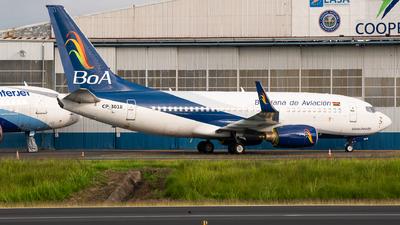 CP-3018 - Boeing 737-73A - Boliviana de Aviación (BoA)