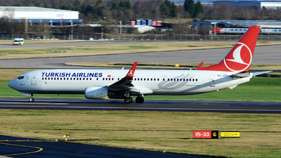 A picture of TCJYP - Boeing 7379F2(ER) - Turkish Airlines - © tianqi yao