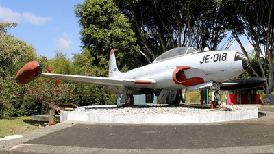 JE-018 - Lockheed T-33 Shooting Star - Mexico - Veracruz State Government