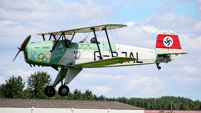 G-BJAL - Bücker 131 Jungmann - Private