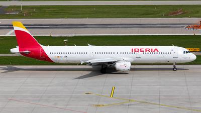 A picture of ECJZM - Airbus A321212 - Iberia - © John Richard