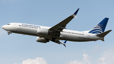 A picture of HP1535CMP - Boeing 7378V3 - Copa Airlines - © Cristian Quijano