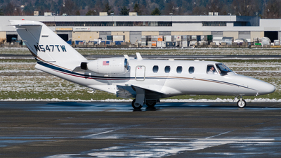 N547TW - Cessna 525 CitationJet 1 - Private