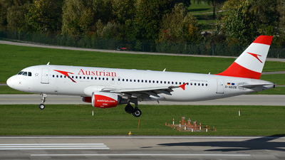 D-ABZB - Airbus A320-216 - Austrian Airlines (Air Berlin)