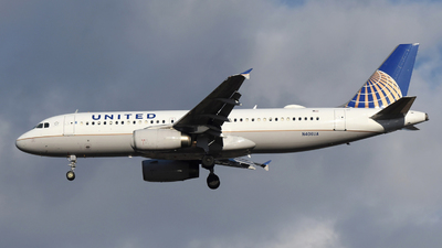 A picture of N406UA - Airbus A320232 - United Airlines - © DJ Reed - OPShots Photo Team