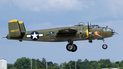 N345BG - North American TB-25N Mitchell - Private