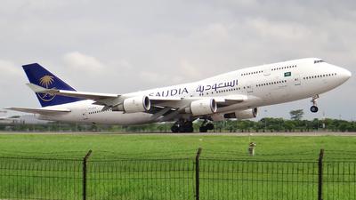 A picture of TFAAK - Boeing 747428 - Saudia - © Hendy Haekal