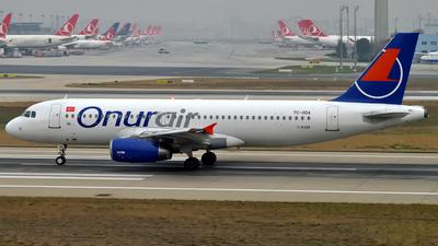 TC-ODA - Airbus A320-233 - Onur Air