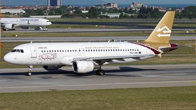 5A-LAK - Airbus A320-214 - Libyan Airlines