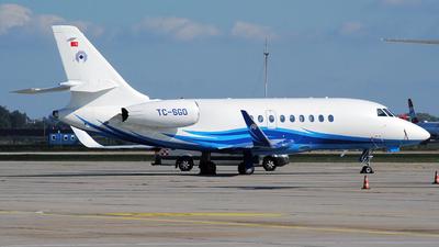 TC-SGO - Dassault Falcon 2000LX - Nurol Aviation