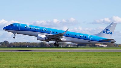 A picture of PHEZA - Embraer E190STD - KLM - © Diego Alonso Romero Alvarado - SJO Spotter