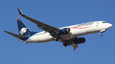 A picture of N875AM - Boeing 737852 - Aeromexico - © Alejandro Aceves