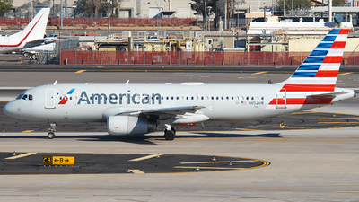 A picture of N652AW - Airbus A320232 - American Airlines - © Jason Whitebird