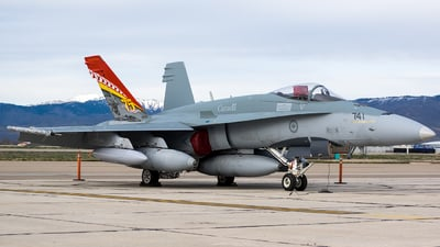 188741 - McDonnell Douglas CF-188 Hornet - Canada - Royal Air Force
