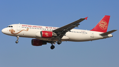 B-6572 - Airbus A320-214 - Juneyao Airlines