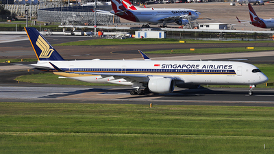 A picture of 9VSHC - Airbus A350941 - Singapore Airlines - © Mark H