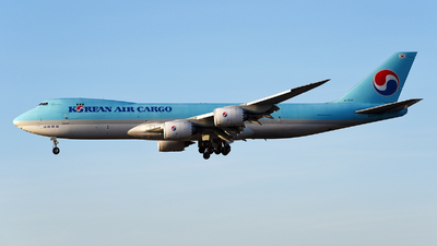 A picture of HL7629 - Boeing 7478B5(F) - Korean Air - © Rocky Wang