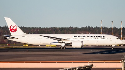 JA867J - Boeing 787-9 Dreamliner - Japan Airlines (JAL)