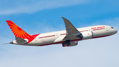 A picture of VTNAA - Boeing 7878 Dreamliner - Air India - © Tyler Lorenz