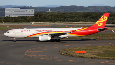 A picture of BLNQ - Airbus A330343 - Hong Kong Airlines - © kouyagi